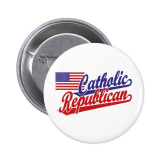Catholic Republican 6 Cm Round Badge