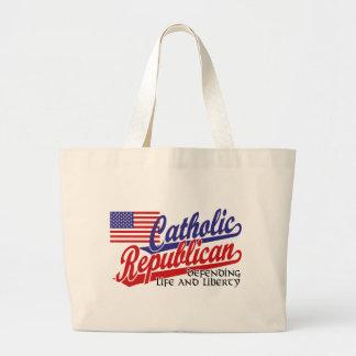 Catholic Republican Tote Bag