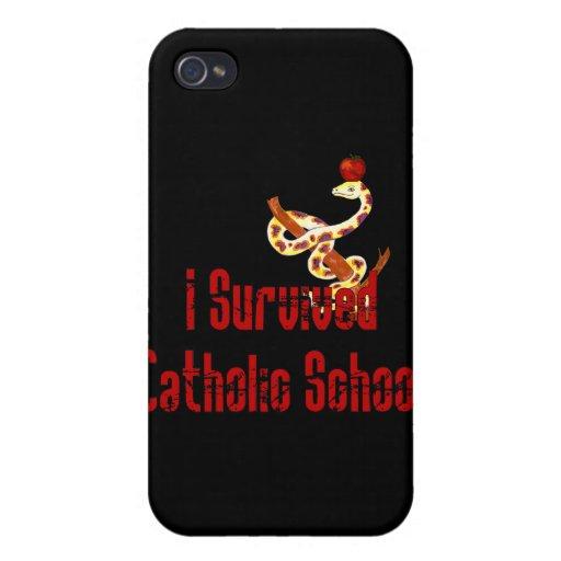 Catholic School Survivor Case For iPhone 4