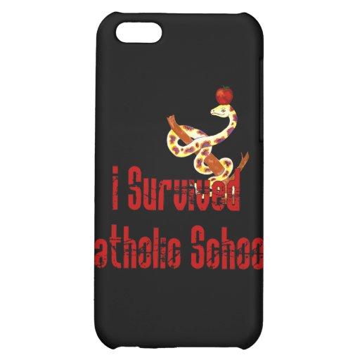 Catholic School Survivor Case For iPhone 5C
