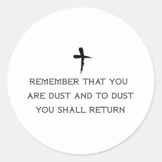 Catholic Round Sticker