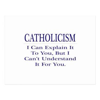 Catholicism .. Explain Not Understand Postcard