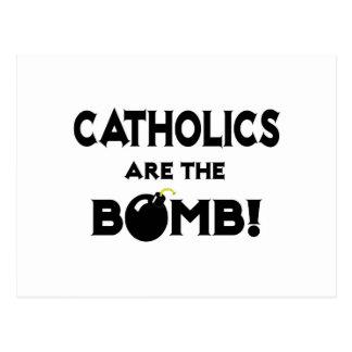 Catholics Are The Bomb! Postcard