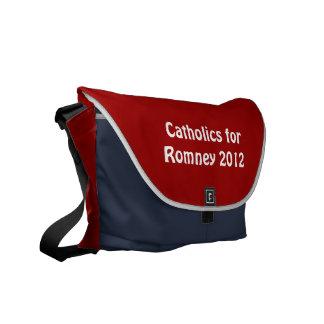 Catholics for Romney Rickshaw Messenger Bag