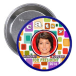 Cathy McMorris Rodgers for President 2016 Buttons