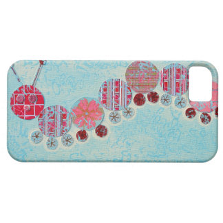 Catipillar Abstract Painting Barely There iPhone 5 Case