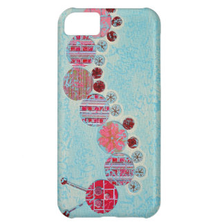 Catipillar Abstract Painting Case For iPhone 5C