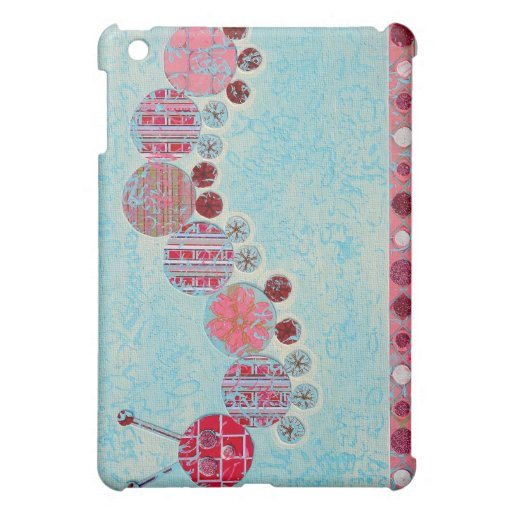 Catipillar Abstract Painting Case For The iPad Mini