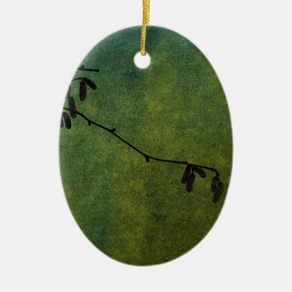 Catkins Christmas Ornament