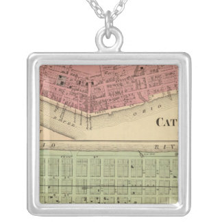 Catlettsburg, West Virginia Silver Plated Necklace