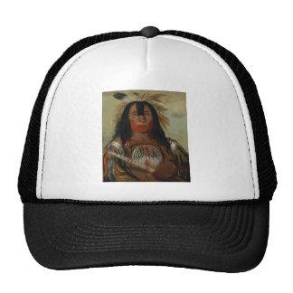 Catlin Native American Art Cap