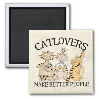 Catlovers Refrigerator Magnets