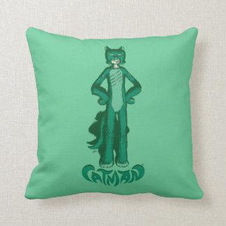 CatMan™ Throw Pillow
