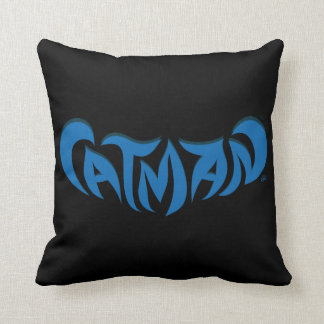 CatMan™ Throw Pillows