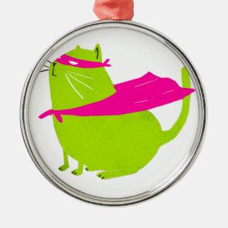 Catman Green Christmas Ornament