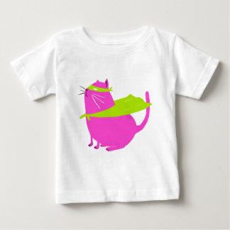 Catman Pink Baby T-Shirt