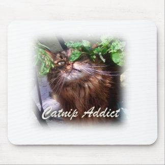 catnip addict mouse mat