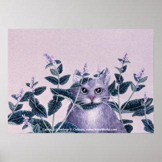 Catnip, Catnip, by Darlene P. Coltrain, www.Ori... Poster
