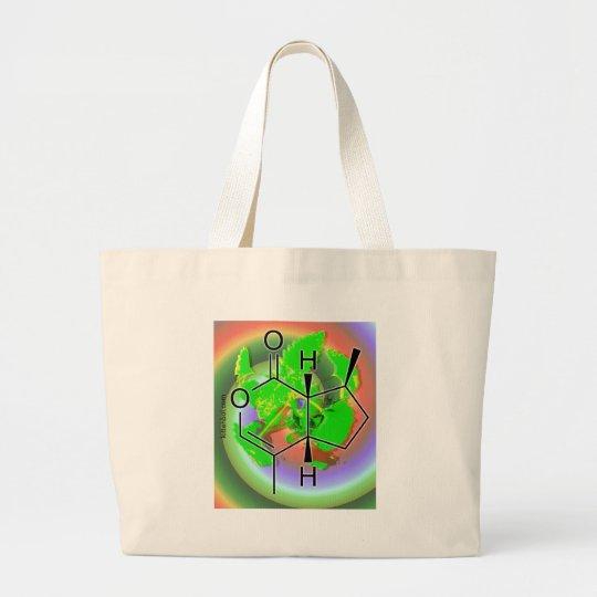 Catnip Trip Large Tote Bag