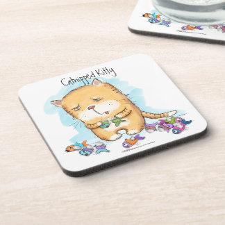 Catnipped Kitty Coaster