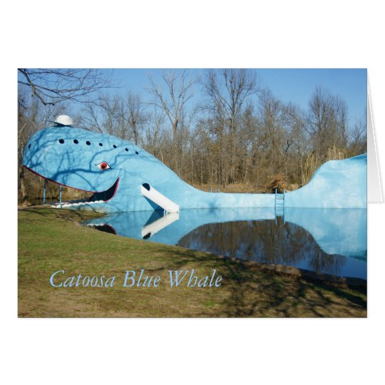 Catoosa Blue Whale Card