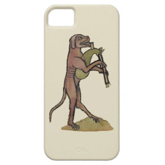 Catpipes/Dog playing cat bagpipes iPhone 5 Covers
