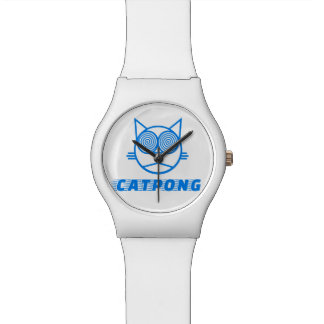 Catpong - Blue Wrist Watch