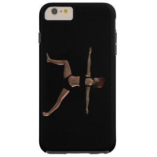 Catrina in Virabhadrasana II Pose - Case Tough iPhone 6 Plus Case