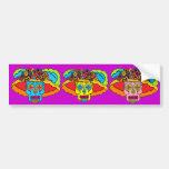 Catrina Sugar Skull Bumper Sticker