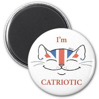 Catriotic Cat Magnet