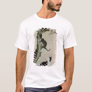 Cats, 17th century (ink on silk) T-Shirt