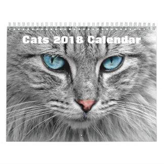 Cats 2017 wall calendar
