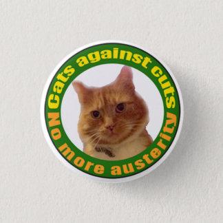 Cats Against Cuts 3 Cm Round Badge
