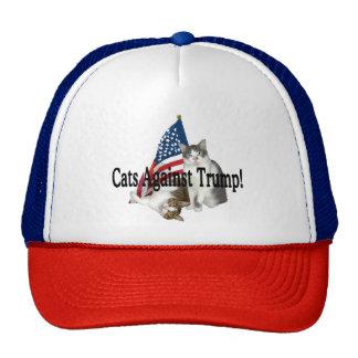 """Cats Against Trump"" Hat"