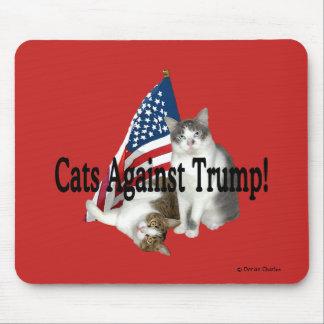 """Cats Against Trump"" Mousepad"