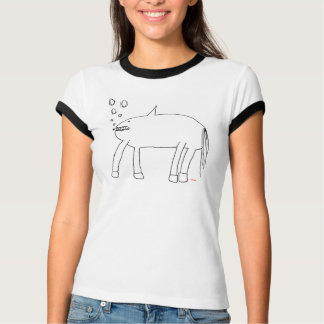 Cat's Amazing Shark Horse T-Shirt