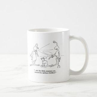 Cats and Aliens Basic White Mug
