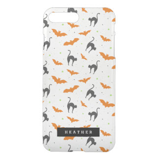 Cats and Bats Halloween iPhone 8 Plus/7 Plus Case