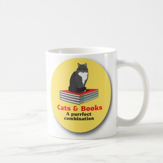 Cats and Books  a purrrfect combination Coffee
