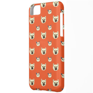 Cats and dogs pattern iPhone 5C case