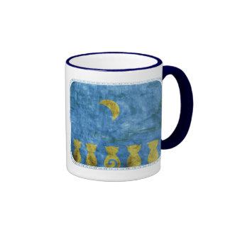 Cats and Moon mug