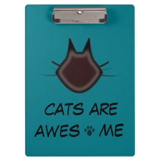 Cats are awesome clipboard