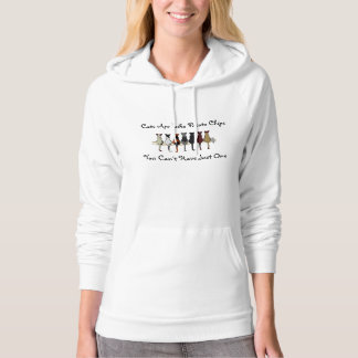 Cats Are Like Potato Chips Hoodie