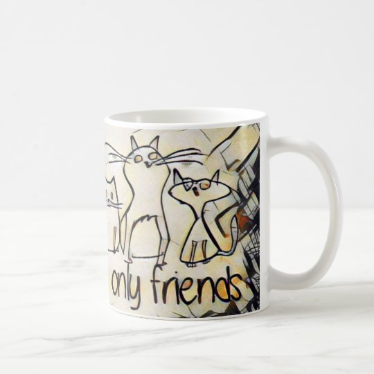 Cats Are My Only Friends Coffee Mug