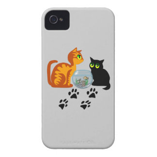 Cats At Play iPhone 4 Cases
