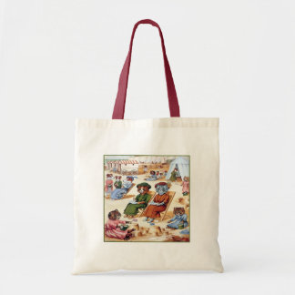 Cats at the Beach by Louis Wain Bags