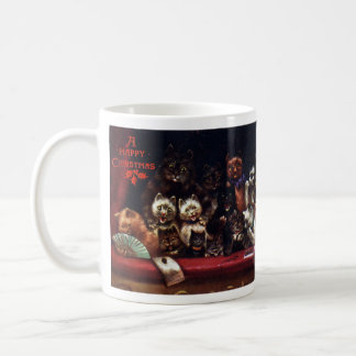 Cats at the Theater for Christmas Mugs