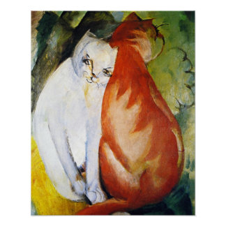 Cats by Franz Marc Posters