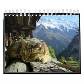 Cats Calendar 2012