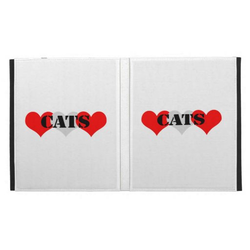 Cats iPad Folio Cases